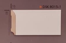 Plinte Duro-Polimer Albe DSK 8015-1