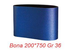 Șmirghel NORTON 200 x 750 GR 36 Zirconiu