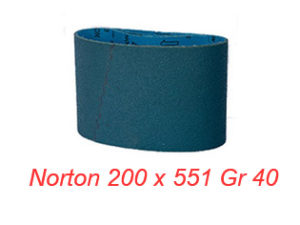 NORTON 200 x 551 GR 40 ZR