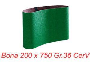 Smirghel BONA 200x750 Gr.36 CerV