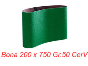 Smirghel BONA 200x750 Gr.50 CerV
