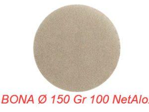 BONA Ø 150 Gr 100 NetAlox