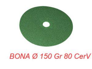 BONA Ø 150 Gr 80 CerV