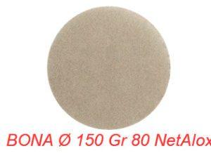 BONA Ø 150 Gr 80 NetAlox