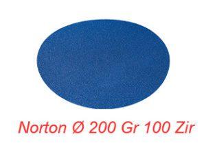 NORTON Ø 200 Gr 100 Zir